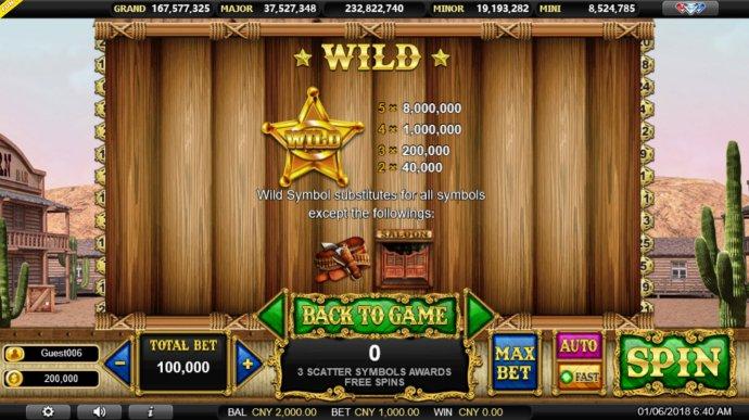 Outlawed Gunslinger by No Deposit Casino Guide