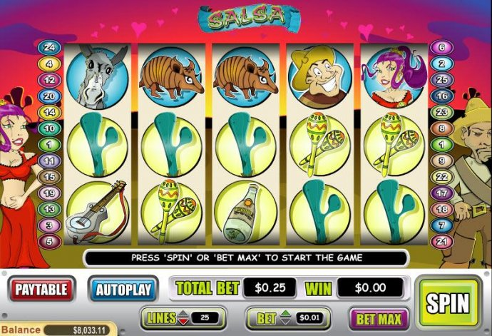 Salsa screenshot