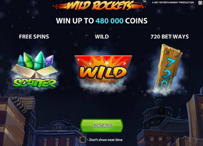 win up to 480000 coins, free spins, wild and 720 bet ways by No Deposit Casino Guide