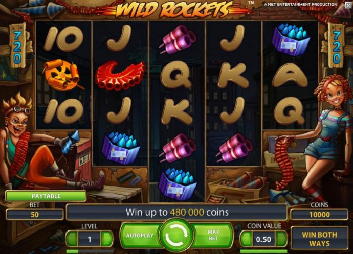 No Deposit Casino Guide image of Wild Rockets