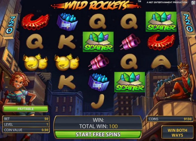Wild Rockets by No Deposit Casino Guide