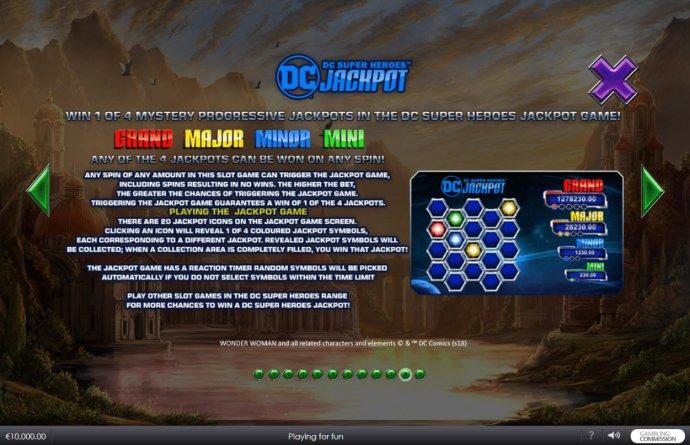 DC Jackpot Rules - No Deposit Casino Guide