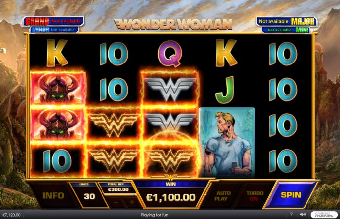 No Deposit Casino Guide - Big win triggered by fire wild
