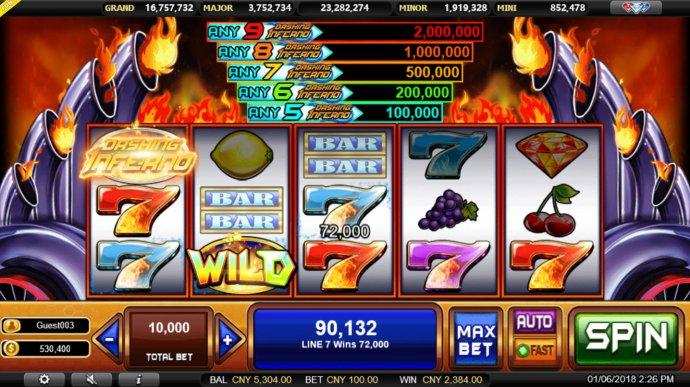 Dashing Inferno screenshot
