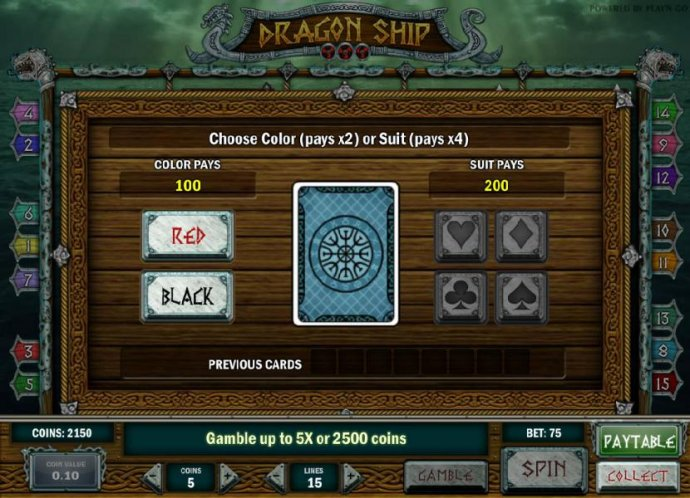 Dragon Ship screenshot