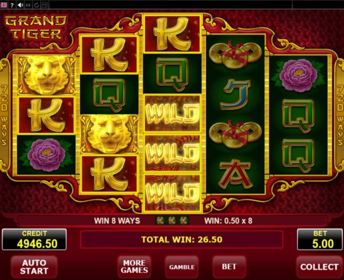 Grand Tiger by No Deposit Casino Guide