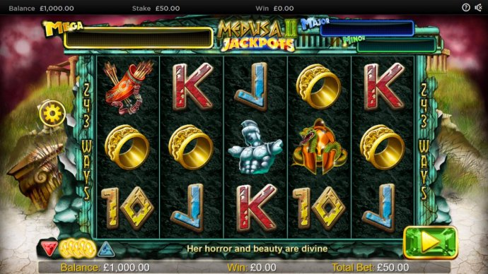 Medusa II Jackpots by No Deposit Casino Guide