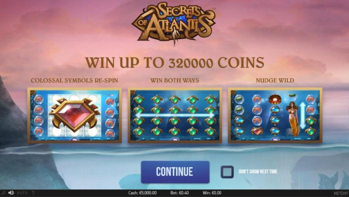 No Deposit Casino Guide image of Secrets of Atlantis