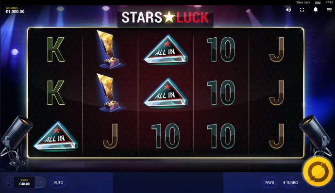 No Deposit Casino Guide image of Stars Luck