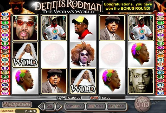 Images of Dennis Rodman