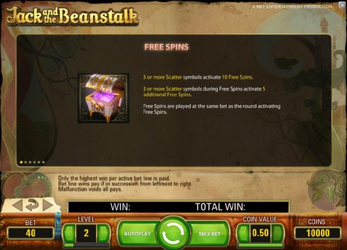 free spins game rules by No Deposit Casino Guide