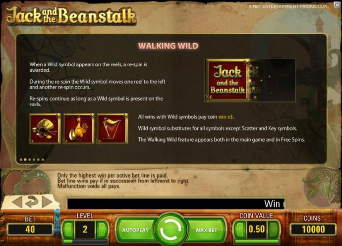 No Deposit Casino Guide image of Jack and the Beanstalk