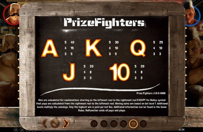 Images of Prize Fighters
