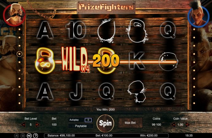 Prize Fighters screenshot