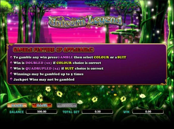 Unicorn Legend screenshot