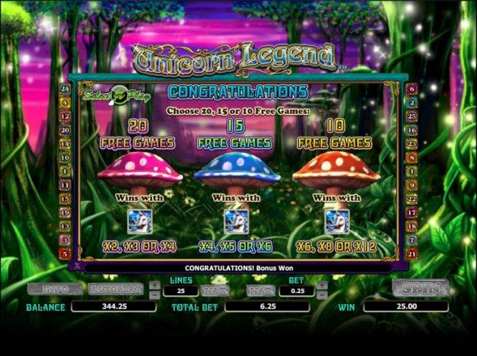 No Deposit Casino Guide image of Unicorn Legend