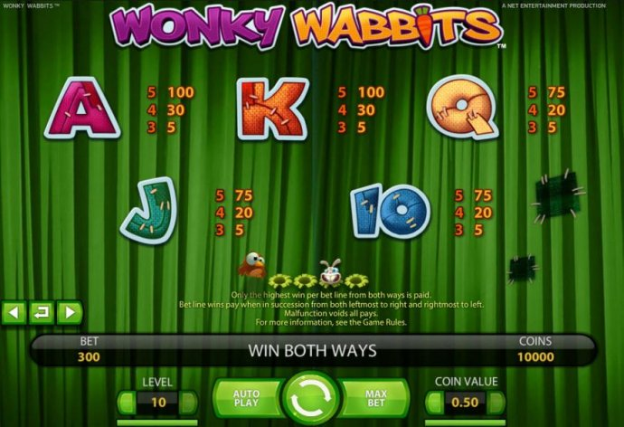 No Deposit Casino Guide - slot game low value symbols paytable