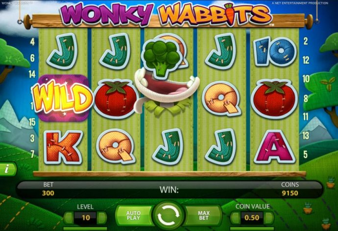 wild duplication in action on 3rd reel by No Deposit Casino Guide