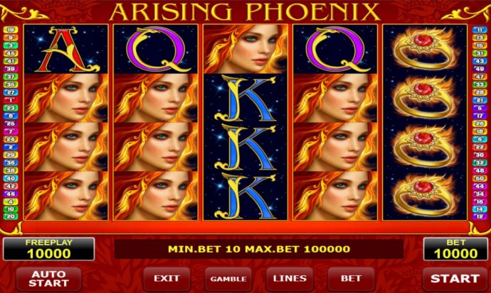 Arising Phoenix by No Deposit Casino Guide