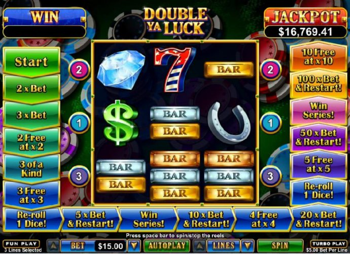 No Deposit Casino Guide image of Double Ya Luck