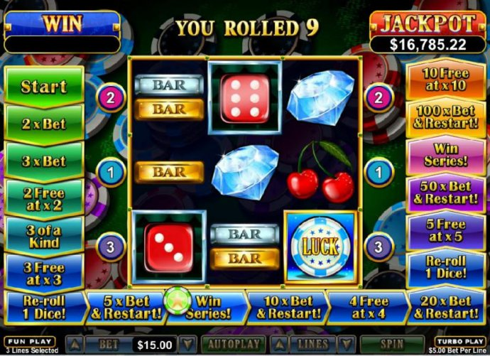 you rolled a 9 - No Deposit Casino Guide