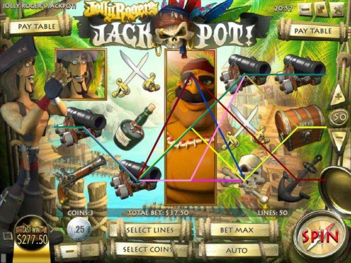 Jolly Rogers Jackpot screenshot