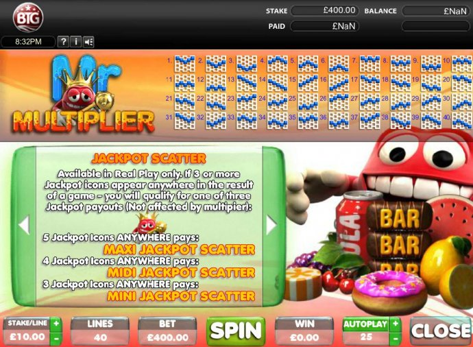 Mr. Multiplier by No Deposit Casino Guide
