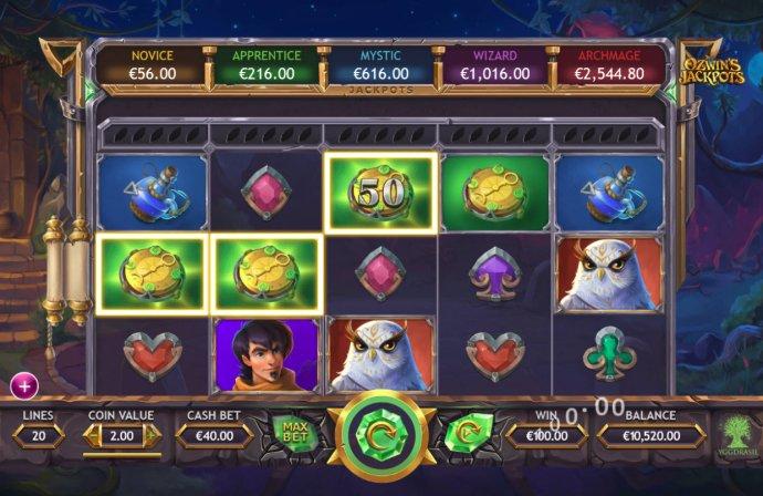 A winning three of a kind - No Deposit Casino Guide