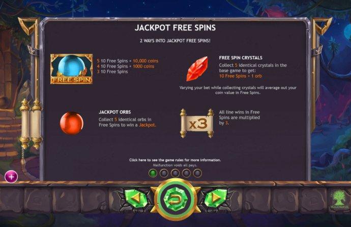 No Deposit Casino Guide image of Ozwin's Jackpots