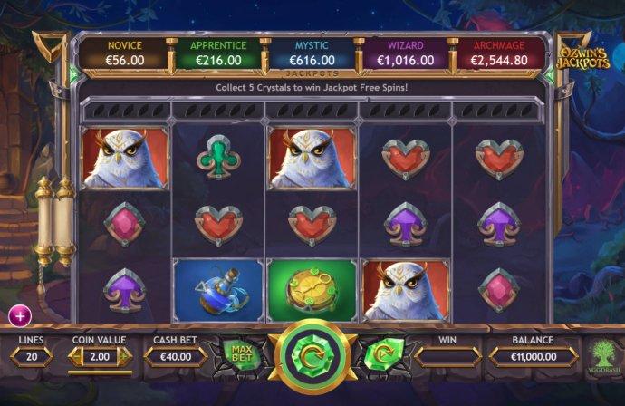 Ozwin's Jackpots by No Deposit Casino Guide