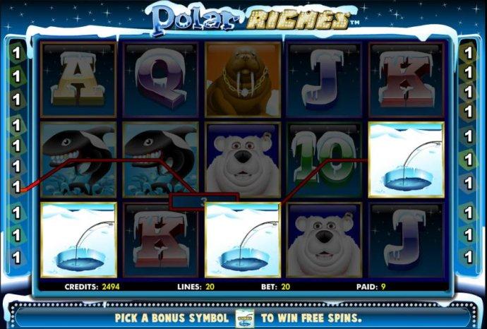 No Deposit Casino Guide image of Polar Riches