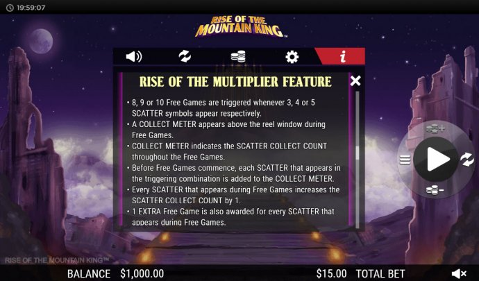 Rise of the Multiplier Feature - No Deposit Casino Guide