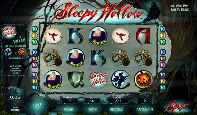Sleepy Hollow screenshot