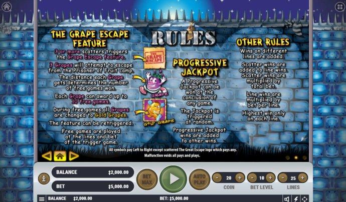 The Great Escape screenshot