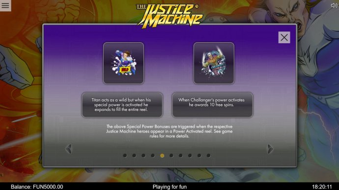 The Justice Machine by No Deposit Casino Guide