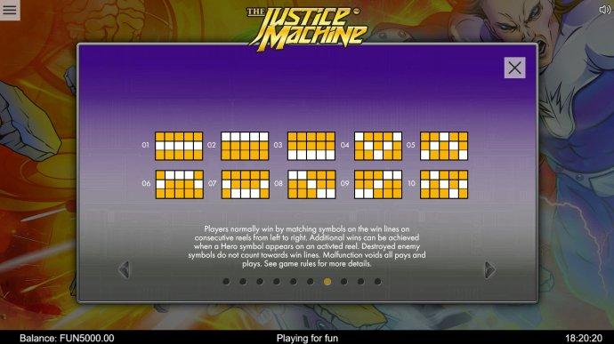 The Justice Machine screenshot