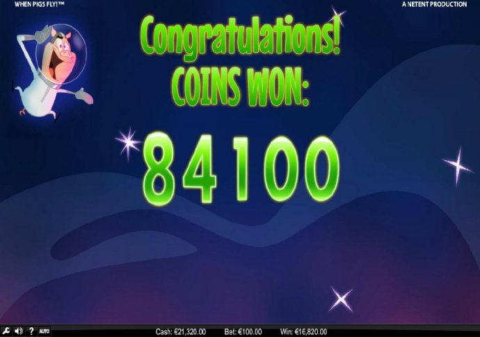The Free Games feature awards an 84100 coin award. - No Deposit Casino Guide