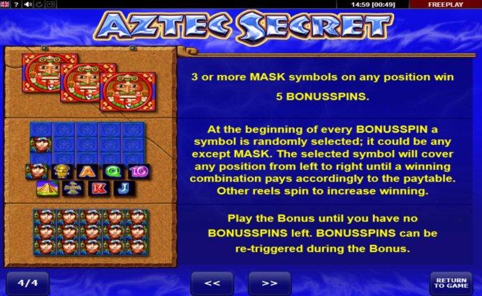 Aztec Secret screenshot