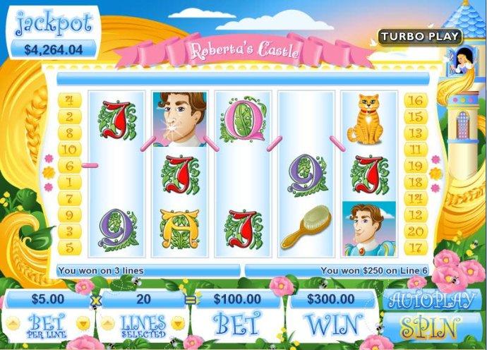 Roberta's Castle screenshot