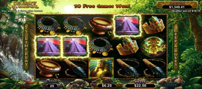 No Deposit Casino Guide image of Secret Symbol
