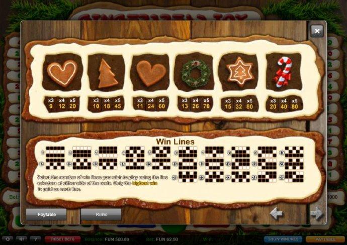 Gingerbread Joy screenshot