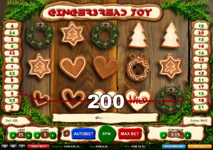 Gingerbread Joy screenshot