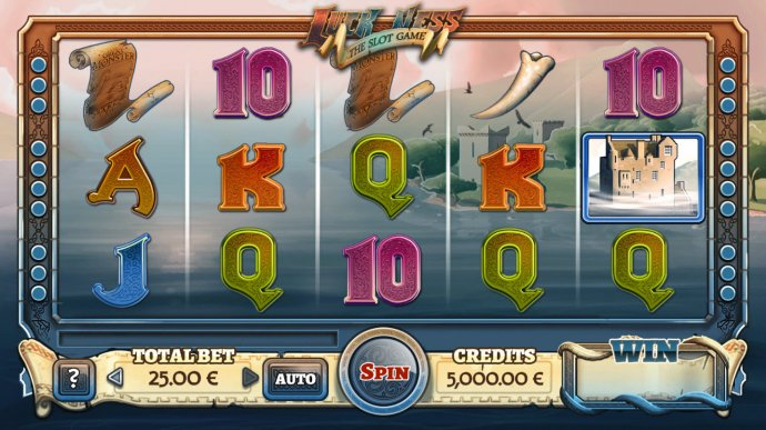 Images of Luck Ness The Slot Game