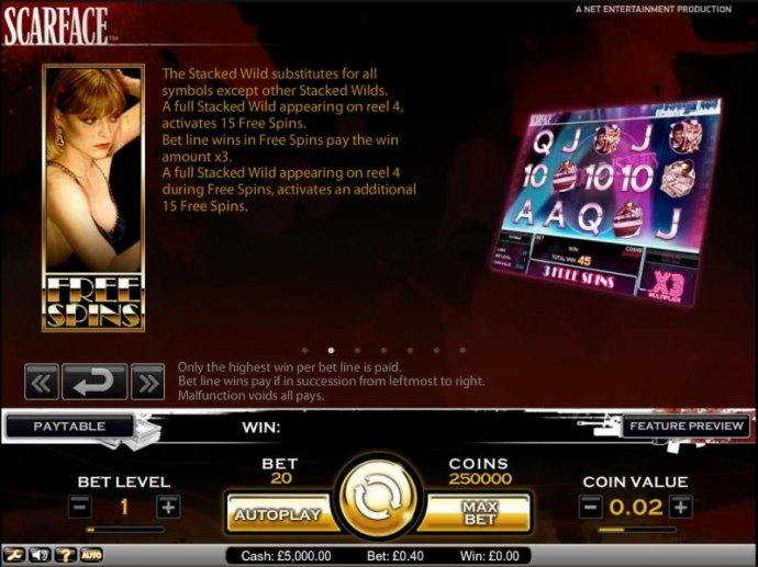 No Deposit Casino Guide image of Scarface