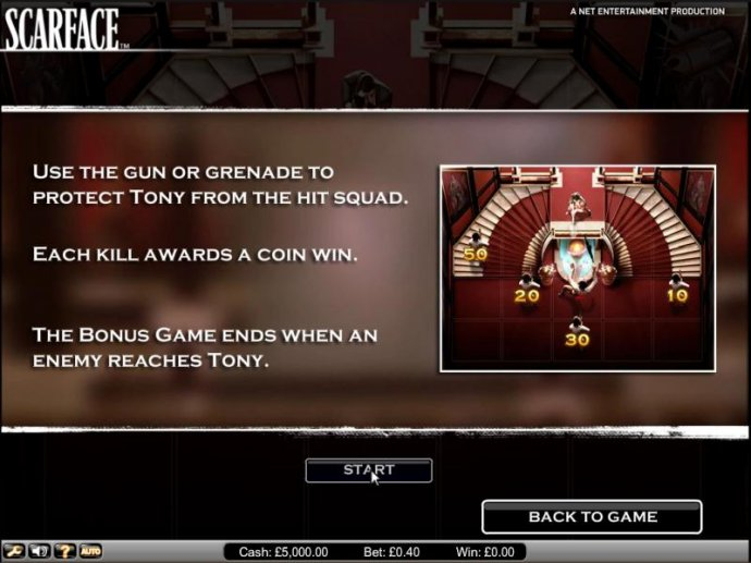 Scarface slot game bonus game feature - No Deposit Casino Guide