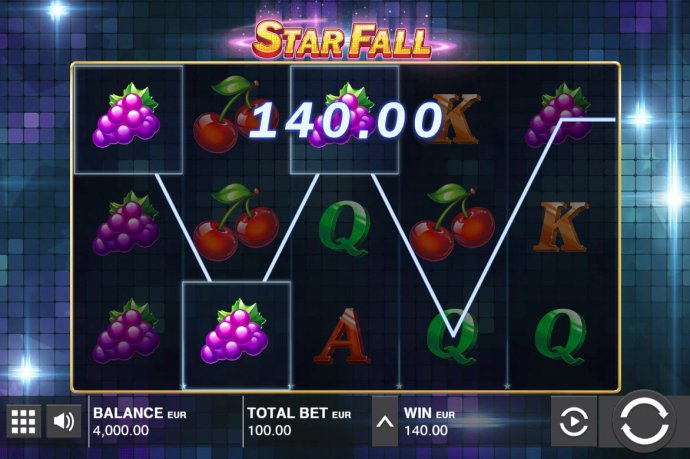 No Deposit Casino Guide image of Star Fall