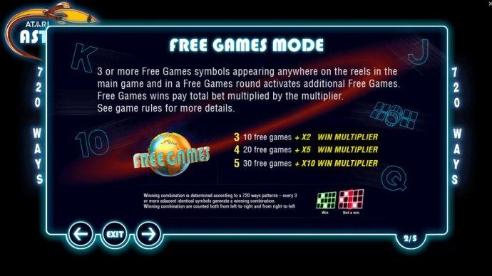 Atari Asteroids by No Deposit Casino Guide