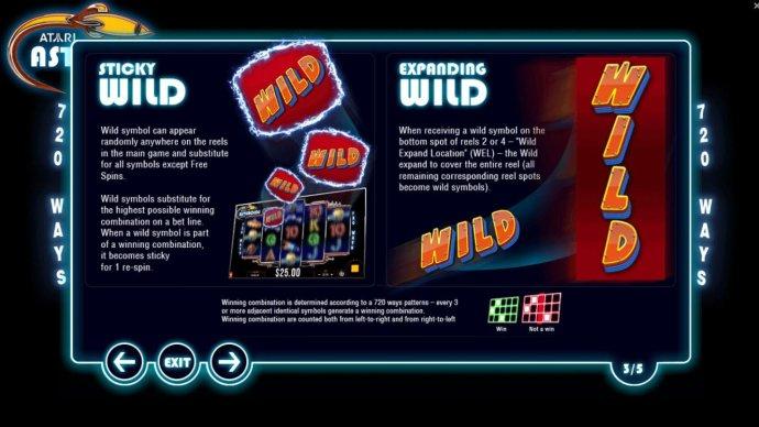Atari Asteroids screenshot
