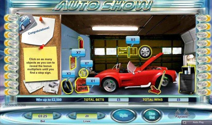 Auto Show by No Deposit Casino Guide