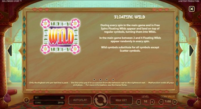 No Deposit Casino Guide - Floating Wild - During every spin in the main game and in free spins, Floating Wilds appear and land on top of regular symbols, turning them into wilds. In the main game between 2 and 4 Floating Wilds appear randomly in every spi